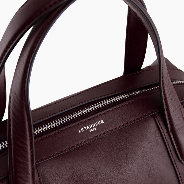 Paulinesmooth leather 's little bowling bag - Le Tanneur
