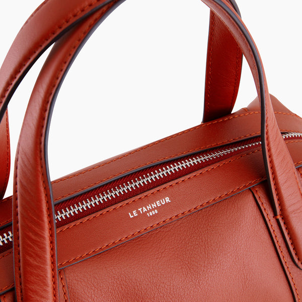 Paulinesmooth leather 's big bowling bag - Le Tanneur