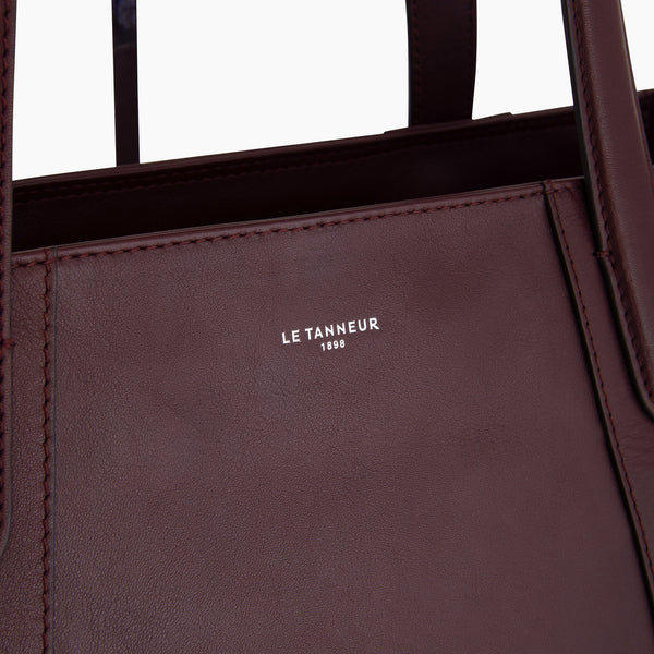 Shopping bag Pauline smooth leather  - Le Tanneur