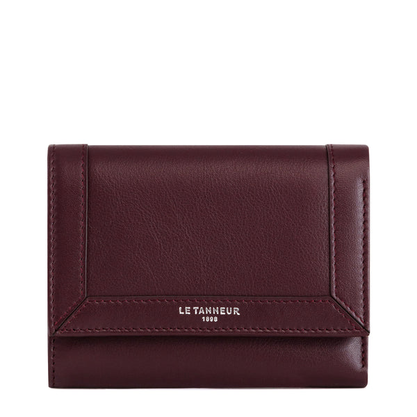 Small wallet Pauline smooth leather  - Le Tanneur