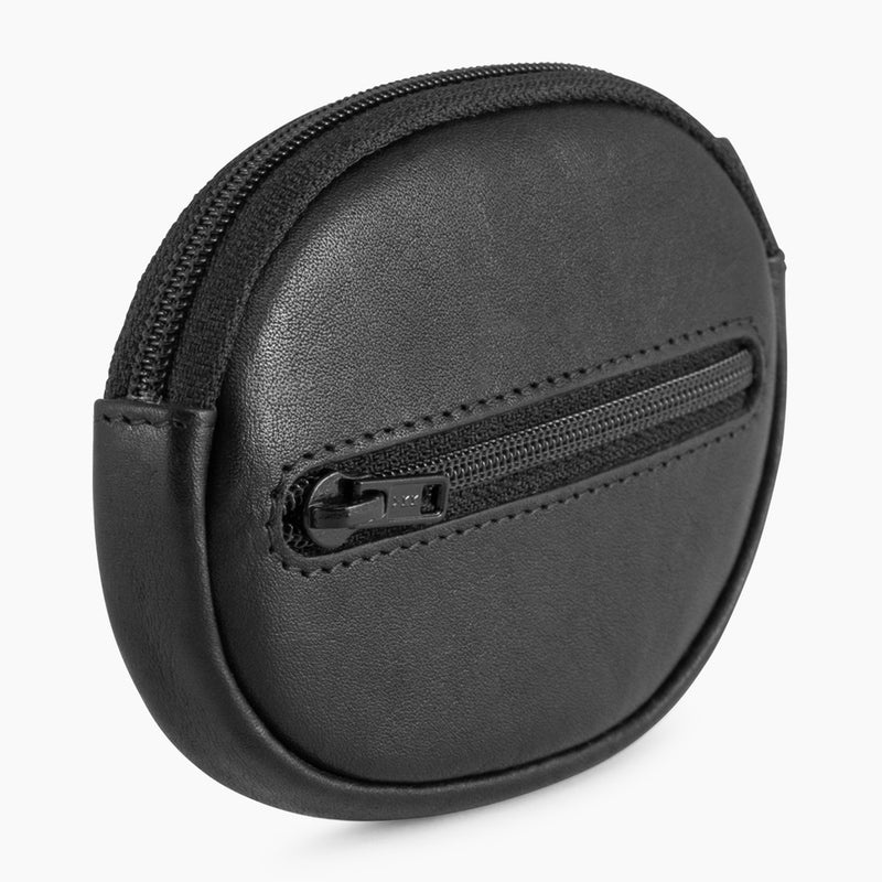 Gary's oiled leather zippered wallet - Le Tanneur