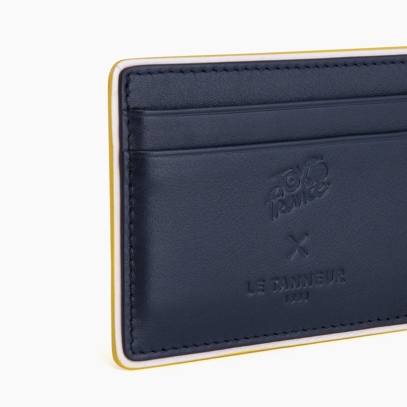 Card smooth leather holder - Le Tanneur