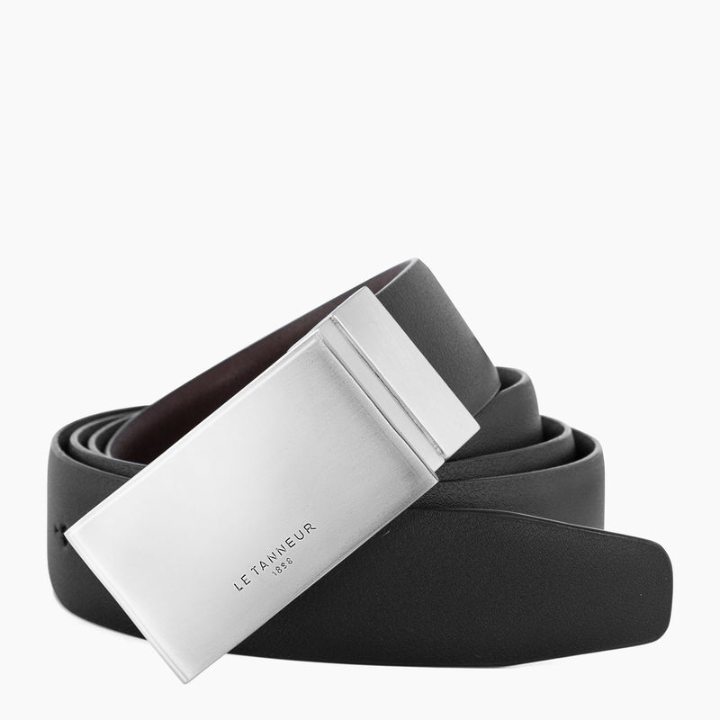 Men's gift box: belt and card holder - Le Tanneur