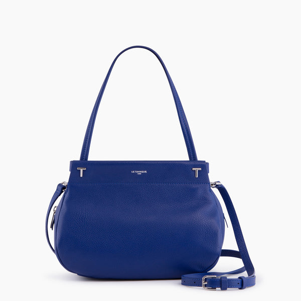 Zoe's little purse pebbled leather  - Le Tanneur