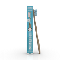 Bamboo Toothbrush  | Biodegradable and Eco-Friendly Blue Bamboo brush