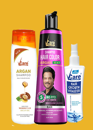 Vcare Hair color shampoo Combo