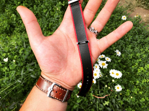 Armilla Watch Bands How to cut a nylon nato watch strap