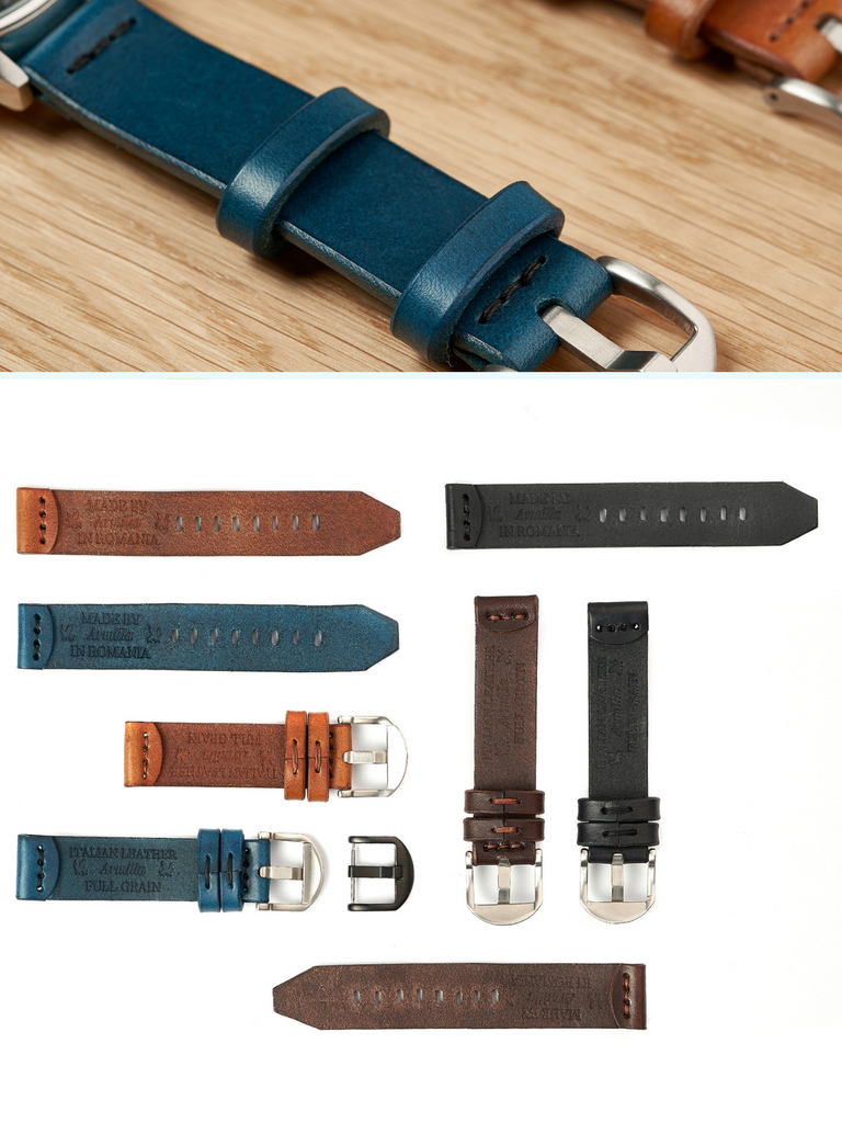 Italian Leather Watch Straps by Armilla Watch Bands