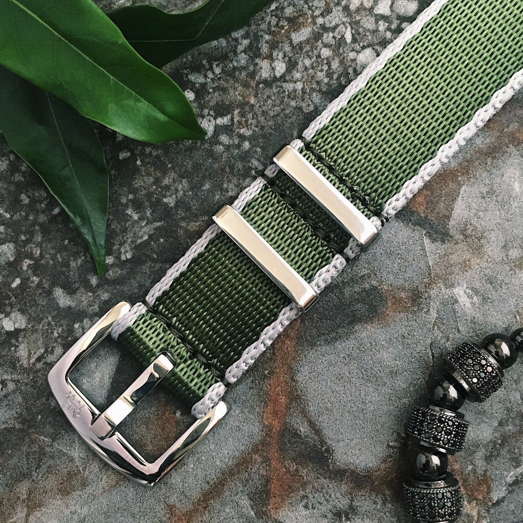 Armilla Green NATO Watch Strap / Band