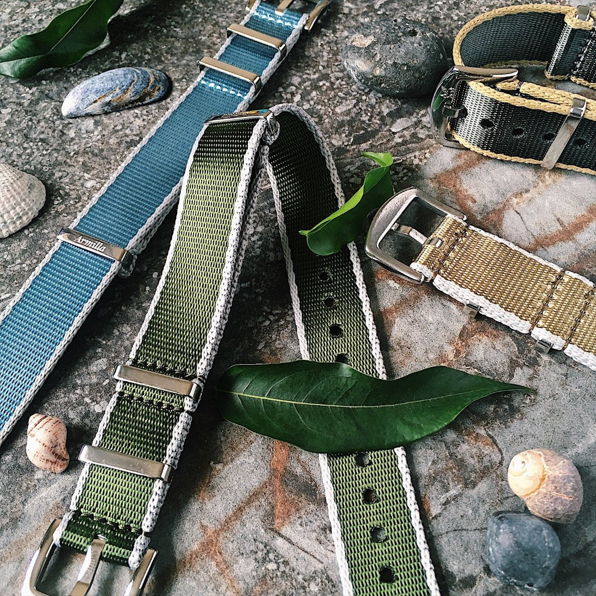 Aero-Ballistic NATO Watch Straps / Bands by Armilla