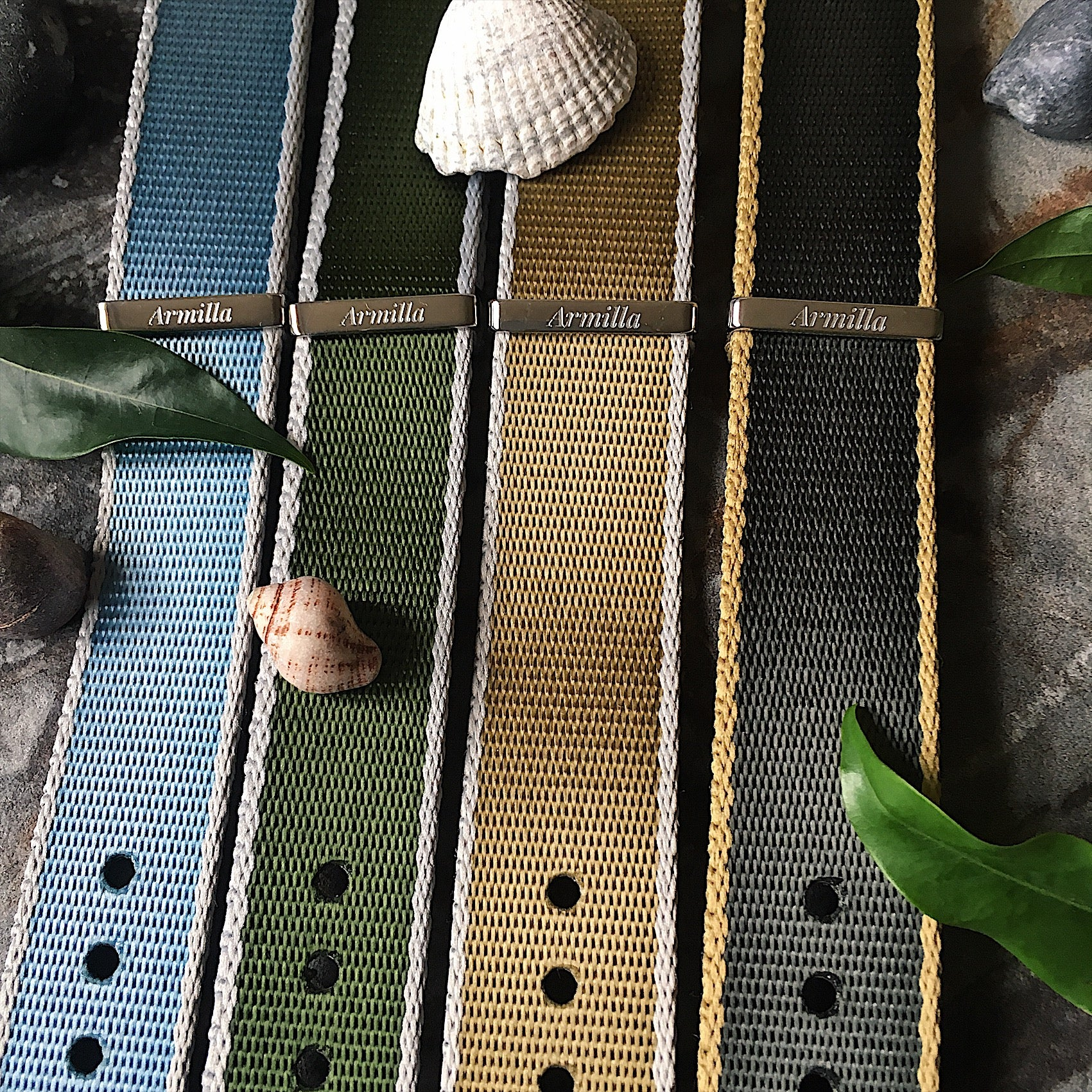 Aero-Ballistic collection of NATO Watch Straps / Bands by Armilla