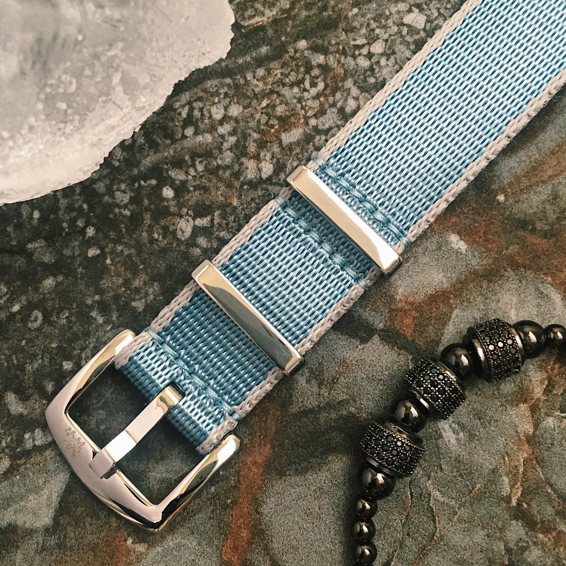 Armilla Blue NATO Watch Strap / Band