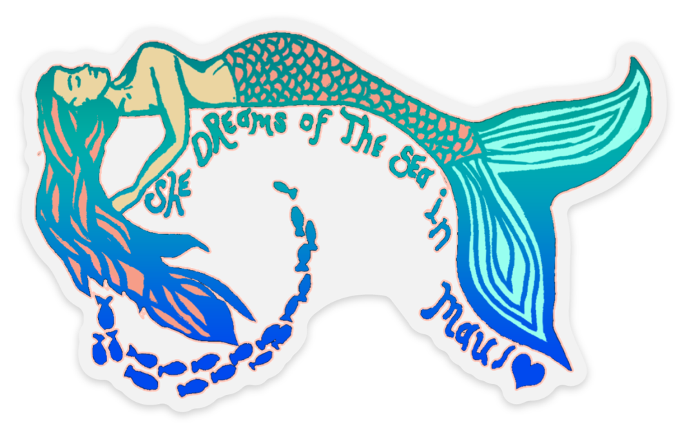 Dreamy Mermaid Sticker