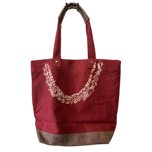 Honey Girl Leather Tote