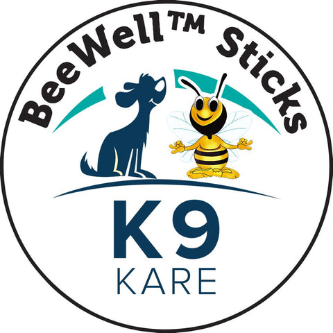 ALL-Natural Hemp Infused BeeWell Honey Sticks for Dogs