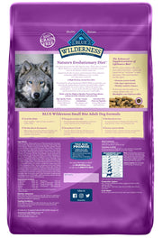 Blue Buffalo Wilderness High Protein Grain Free, Natural Adult Small-Bite Dry Dog Food, Chicken 11-lb
