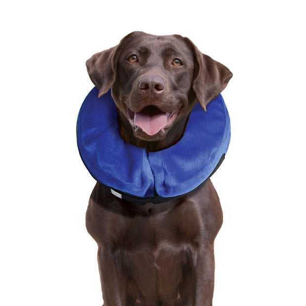KONG - Cloud Collar - Inflatable Collar - For Injuries, Rashes and Post Surgery Recovery - For Large Dogs