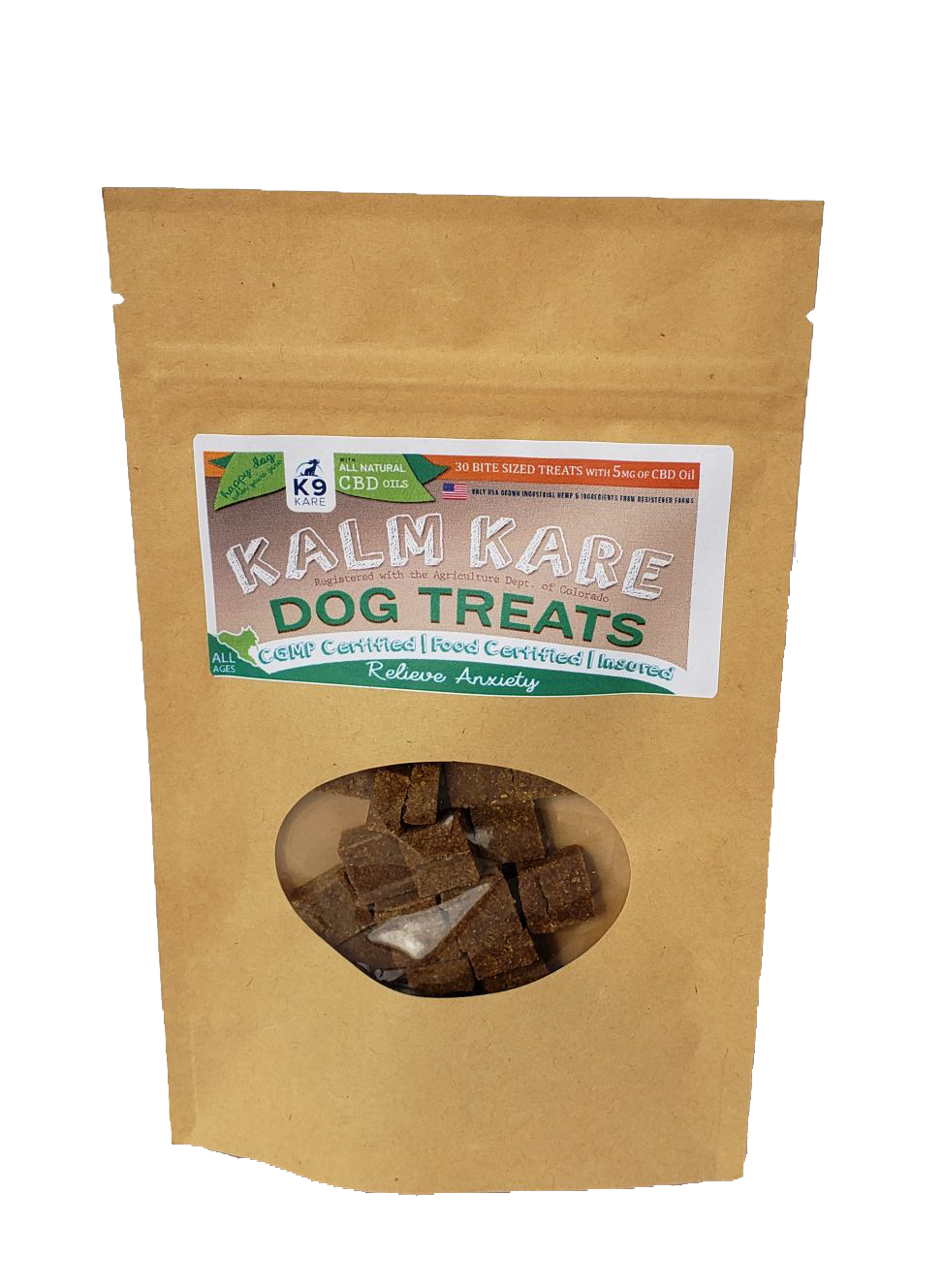 Kalm Kare - Artesian All-Natural Calming Dog Treats