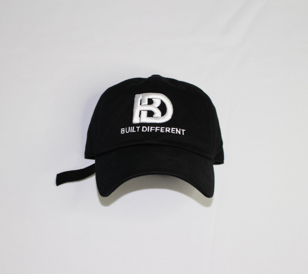 Built Different Dad Hat (White)