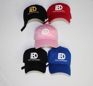 Built Different Dad hat (Pink)
