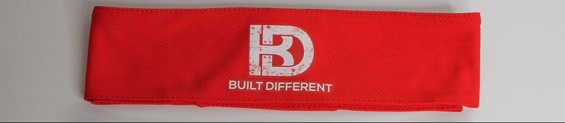 BD Tie headband (Red)