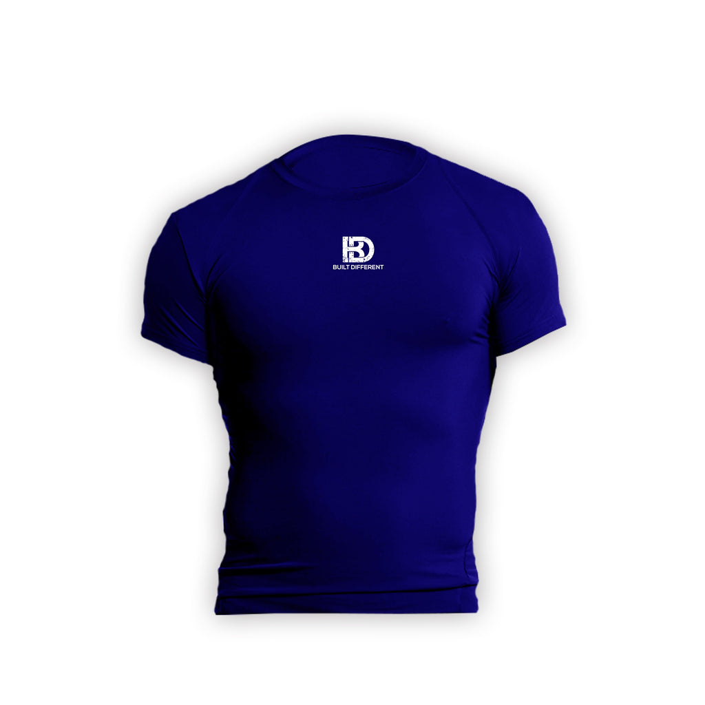 Built Different Compression- Royal Blue