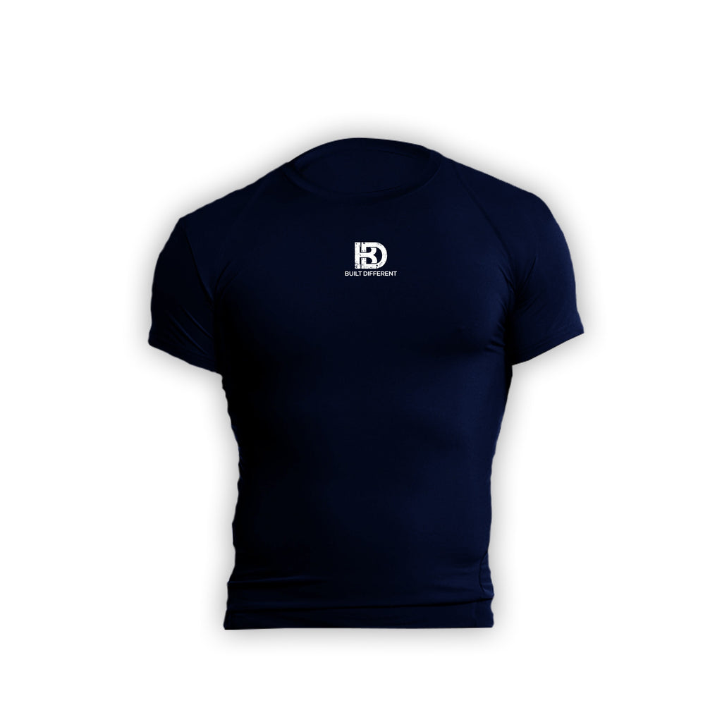 Built Different Compression Navy