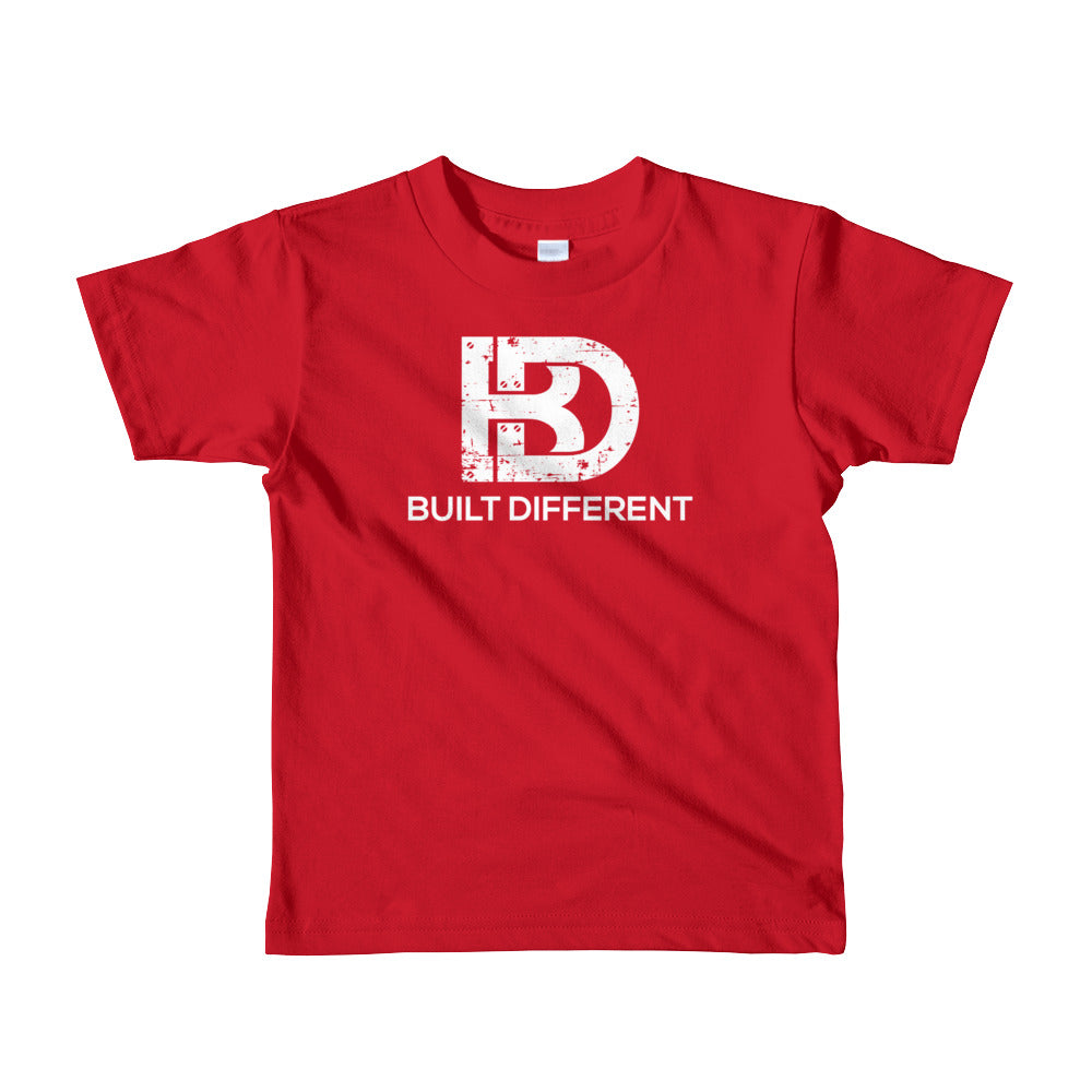 Youth Built Different Logo Tees All Colors
