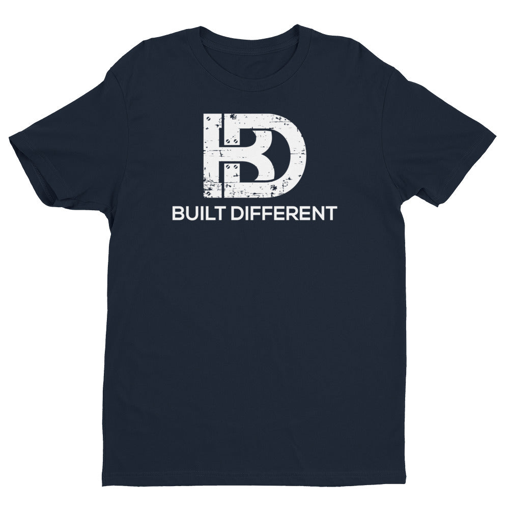 Built Different Logo T-Shirt Navy