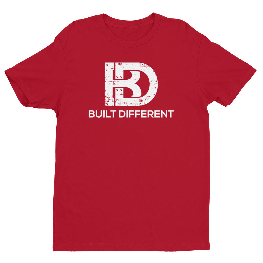 Built Different Logo T-shirt Red