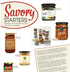 Fancy Food Magazine mention of The Gracious Gourmet