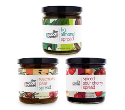 Fruit Lover's Trio from The Gracious Gourmet
