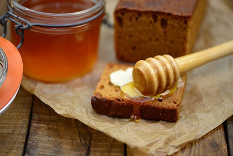 GourmetPlanet - Honey from Germany used in Butterbrot mit Honig
