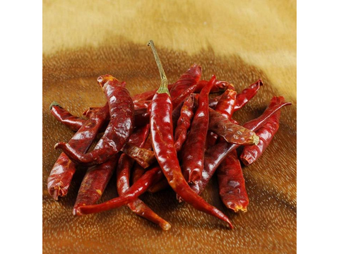 Red Arbol Chili Pepper - Dried, Whole - Mexico