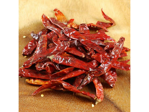 Japones Santaka Chili - Dried, Whole - India