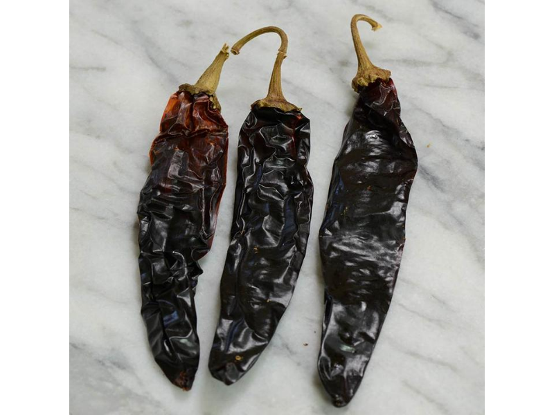Black Guajillo Chili Pepper - Dried, Whole - Mexico