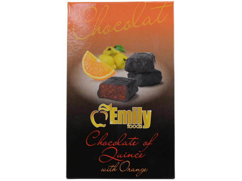 Dark Chocolate with Orange Membrillo - (Quince Paste) - Spain