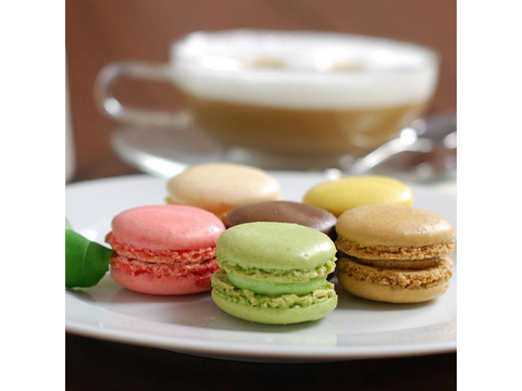 French Almond Macarons - France