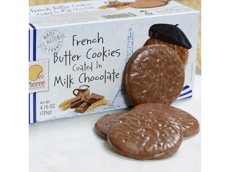 Milk Chocolate - French Butter Cookie - France