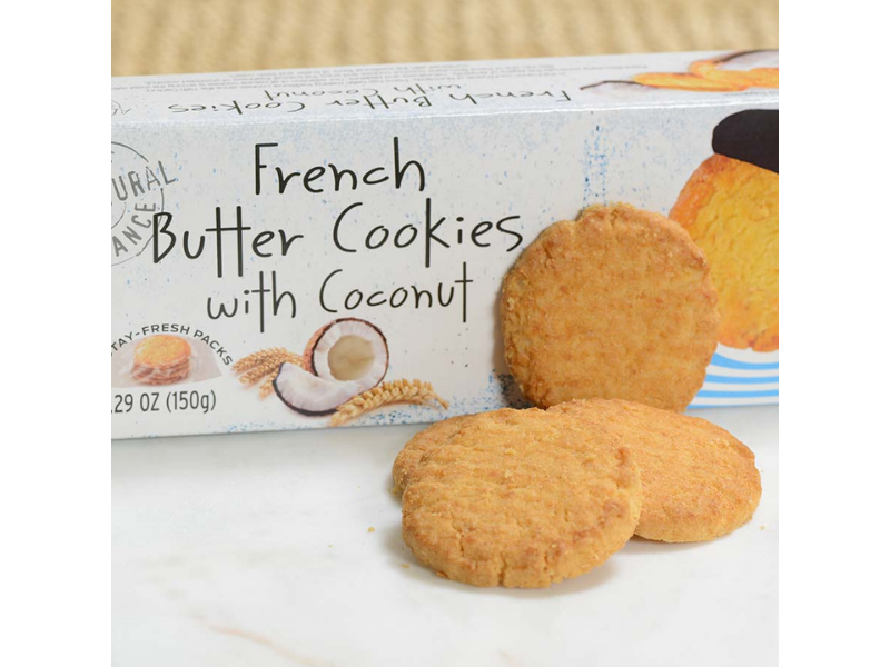 Coconut - French Butter Cookie - France
