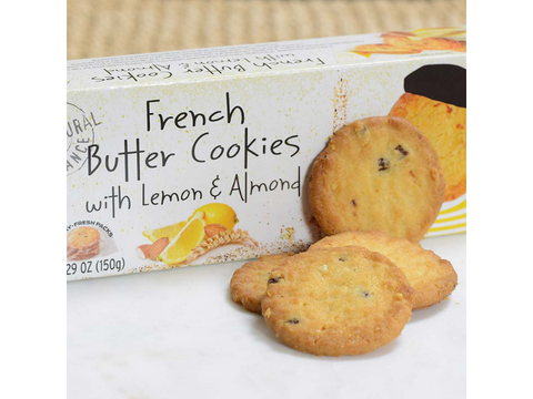 Lemon & Almond - French Butter Cookie - France