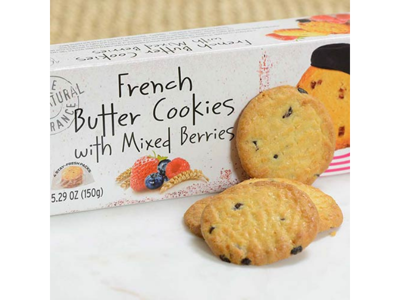 Mixed Berries - French Butter Cookie - France