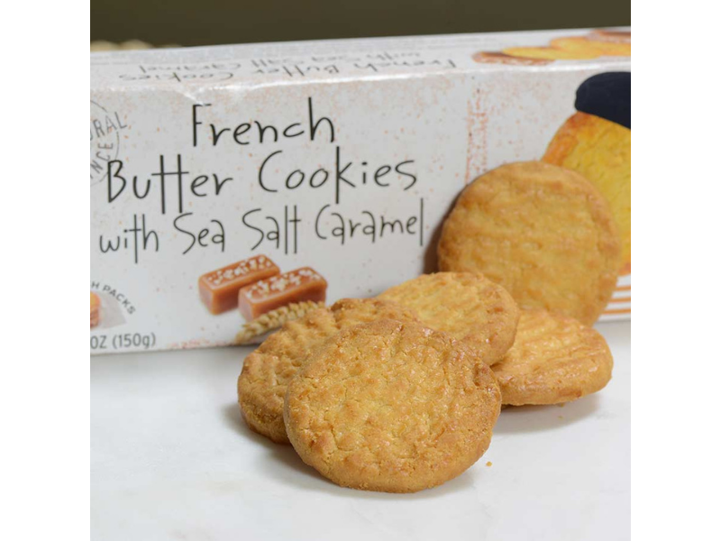 Sea Salt Caramel - French Butter Cookie - France