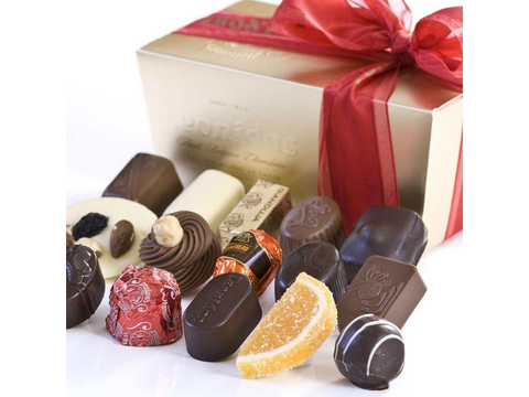 Chocolate Assortment - Mixed -Ballotin Gift Box - Belgium
