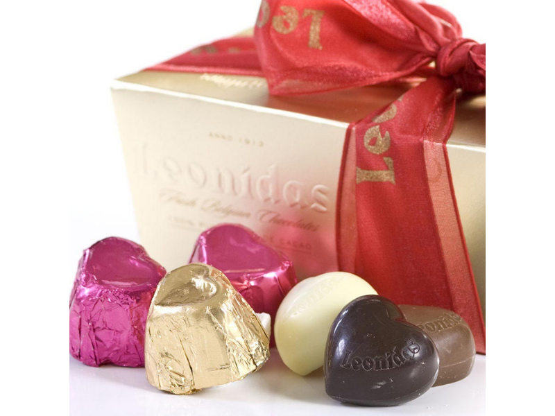Chocolate Truffles - Heart Collection - Belgium