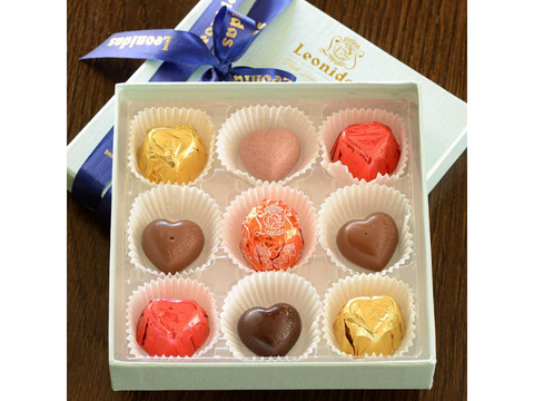Chocolate Truffles - 9-Piece Signature Assortment - Belgium