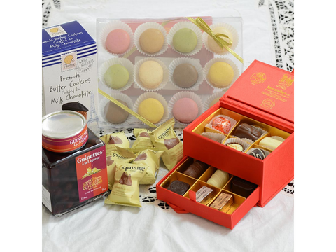 Sweet Treats Gift Box - Belgium