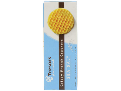 French Waffle Crackers - Sea Salt  - France