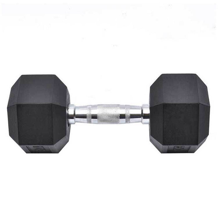 Younix Chrome Handle Hexagonal Dumbbells (Each)