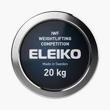 Bar ELEIKO - IWF WEIGHTLIFTING COMPETITION BAR - 20 KG, MEN